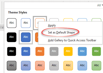 set your own shape default settings in office microsoft office 29046 - Set your own Shape default settings in Office