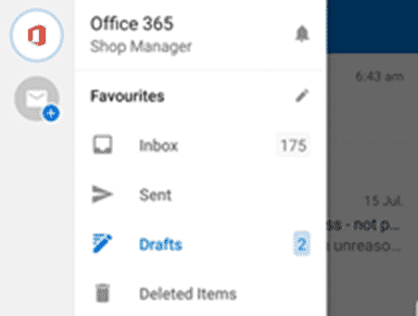 share outlook drafts folder on iphone ipad and android microsoft office 33380 - Share Outlook drafts folder on iPhone, iPad and Android