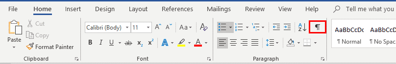 show hidden characters in word 31790 - Show Hidden Characters in Word with Show All