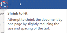 shrink one page or shrink to fit in microsoft word 24141 - Shrink One Page or Shrink to Fit in Microsoft Word
