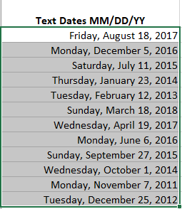 simple text with day month and year to excel date conversion microsoft excel 24399 - Simple text with day, month and year to Excel date conversion