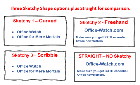 sketchy line option in office for windows and mac microsoft office 29056 - Sketchy line option in Office for Windows and Mac