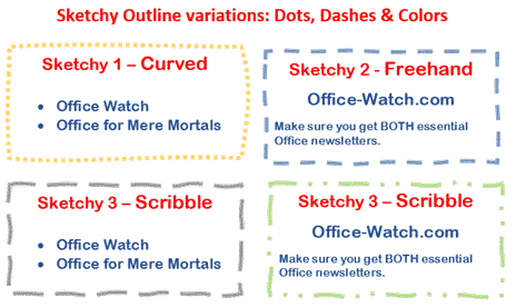 sketchy line option in office for windows and mac microsoft office 29058 - Sketchy line option in Office for Windows and Mac