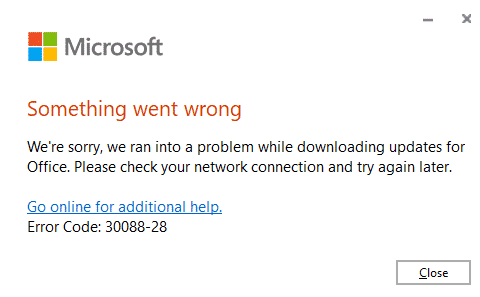 "something went wrong fixing a bad office 365 update microsoft office 30670 - ""Something went wrong"" fixing a bad Office 365 update"