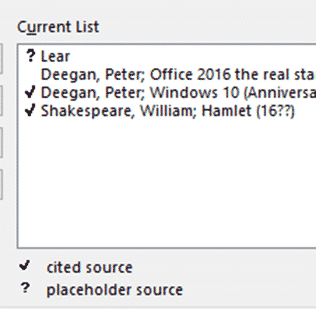 source manager for citations in word microsoft word 27936 - Source Manager for citations in Word