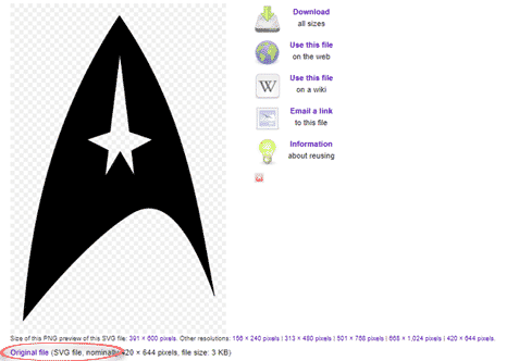 star trek logo with variations in office word powerpoint or excel microsoft office 34179 - Star Trek Logo with variations in Office, Word, PowerPoint or Excel