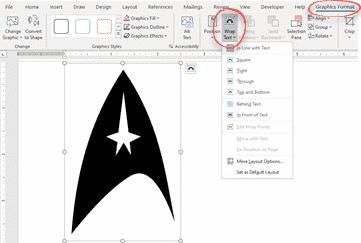 star trek logo with variations in office word powerpoint or excel microsoft office 34180 - Star Trek Logo with variations in Office, Word, PowerPoint or Excel