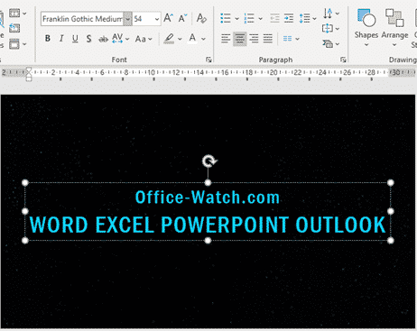 star wars movie opening and end credits in powerpoint microsoft office 33444 - Star Wars movie opening and end credits in PowerPoint