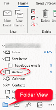 starting with archive in microsoft outlook microsoft outlook 34860 - Starting with Archive in Microsoft Outlook