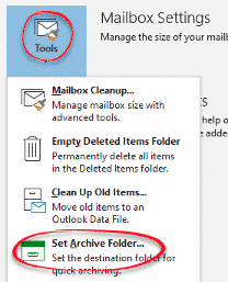 starting with archive in microsoft outlook microsoft outlook 34862 - Starting with Archive in Microsoft Outlook