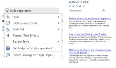 style separators in word 7665 - Style Separators in Word