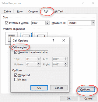 styles for individual table cells in word microsoft office 33730 - Styles for individual table cells in Word