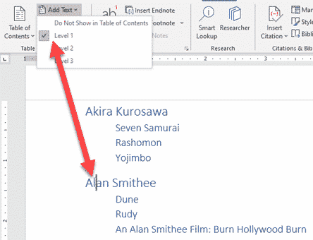 table of contents basics in word microsoft word 26548 - Table of Contents basics in Word