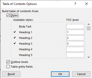 table of contents basics in word microsoft word 26551 - Table of Contents basics in Word