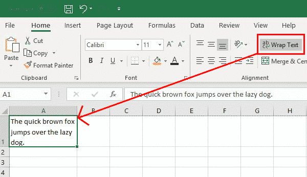 text formatting in excel with wrapping line breaks and merging microsoft excel 29738 - Text formatting in Excel with wrapping, line breaks and merging