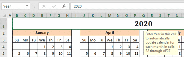 the mystery of excels calendar creator template microsoft office 33590 - The mystery of Excel's Calendar Creator template