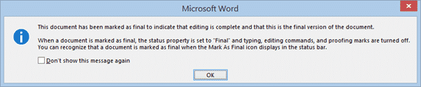 three simple ways to stop people changing your word documents microsoft word 30925 - Three simple ways to stop people changing your Word documents