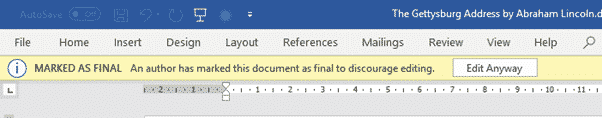three simple ways to stop people changing your word documents microsoft word 30928 - Three simple ways to stop people changing your Word documents