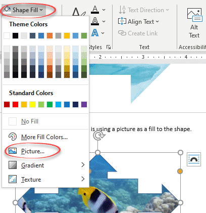 three ways to crop a picture with an office shape microsoft word 34681 - Three ways to crop a picture with an Office shape