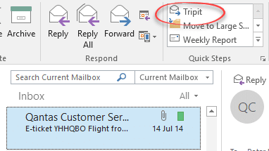 tripit tips for microsoft outlook 16112 - Tripit tips for Microsoft Outlook
