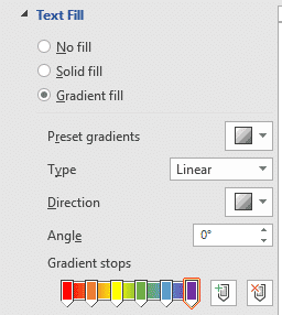 two ways to add gradient or rainbow text or background effects in word microsoft office 31117 - Two ways to add Gradient or Rainbow text or background effects in Word