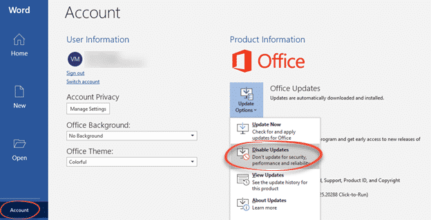 two ways to stop office automatic updates microsoft office 34043 - Two ways to stop Office automatic updates