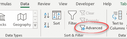 unique filter in excel the manual one off option microsoft excel 30610 - Unique filter in Excel – the manual 'one-off' options