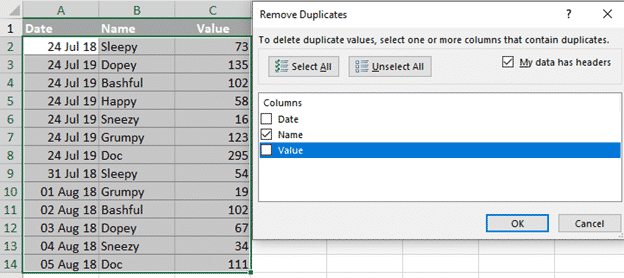 unique filter in excel the manual one off options microsoft office 30624 - Unique filter in Excel – the manual 'one-off' options