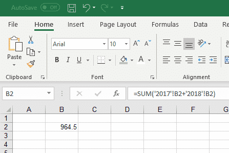 using 3d formulas to range across excel worksheets 31735 - Using 3D Formulas to range across Excel worksheets