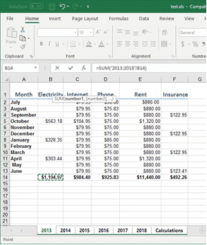 using 3d formulas to range across excel worksheets 31746 - Using 3D Formulas to range across Excel worksheets