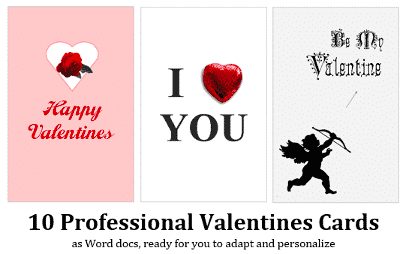 valentines day with microsoft word 34554 - Valentines Day with Microsoft Word