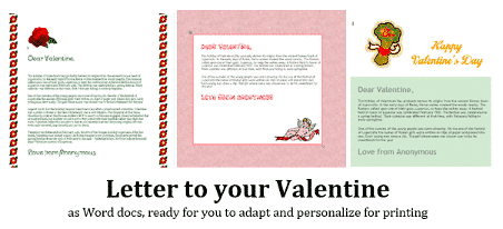 valentines day with microsoft word 34556 - Valentines Day with Microsoft Word