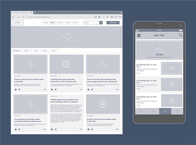 visio is getting web and mobile wireframes 14713 - Visio is getting web and mobile wireframes