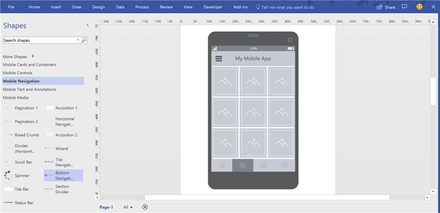 visio is getting web and mobile wireframes 14717 - Visio is getting web and mobile wireframes
