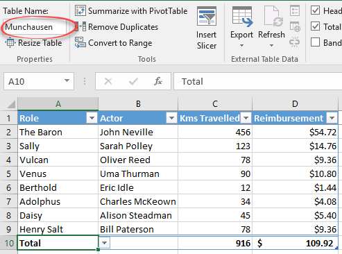 what are excel tables and why you should use them microsoft excel 16299 - What are Excel Tables and why you should use them