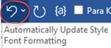 what does word style automatically update really mean microsoft word 25366 - What does Word style 'Automatically update' really mean?
