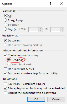 when word headings arent really headings 7558 - When Word 'Headings' aren't really headings