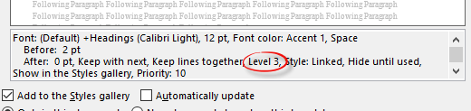 when word headings arent really headings 7561 - When Word 'Headings' aren't really headings