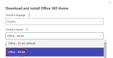 which office 365 2019 to choose 64 bit or 32 bit office 2019 25725 - Which Office 365/2019 to choose - 64 bit or 32-bit?