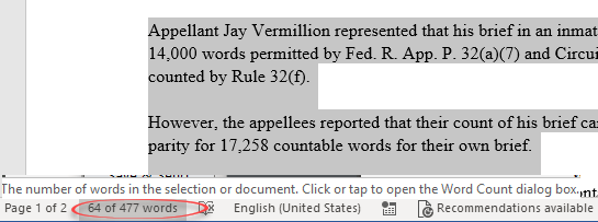 why microsofts word count went to court microsoft word 24275 - Why Microsoft's Word Count went to court