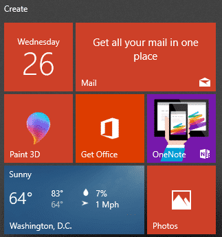 why no live tiles with outlook 14469 - Why no Windows Live Tiles with Outlook?