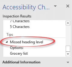 word 2016 how to check for missed numbering or levels 14451 - Word 2016: how to check for missed numbering or levels