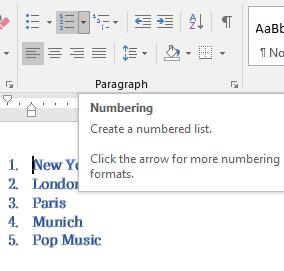 word numbering tricks microsoft word 16568 - Word Numbered List tricks
