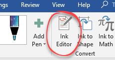 words ink editor gets more gestures microsoft word 24097 - Word's Ink Editor gets more gestures