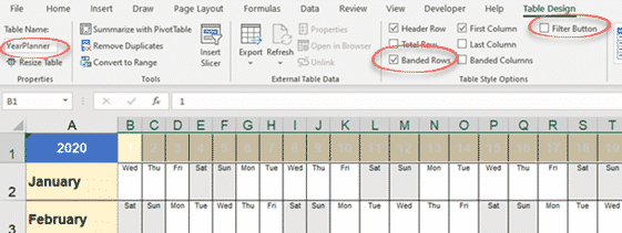 year planner calendar improvements and extensions microsoft excel 33902 - Year Planner calendar, Improvements and Extensions