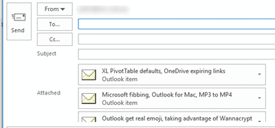 15 ways to save or export Outlook emails or items - Office Watch