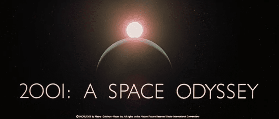 2001 a space odyssey - in word and powerpoint
