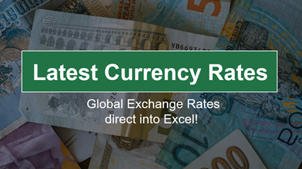 Real Time Excel get live stock prices currency rates and more 2 - Real-Time Excel - get live stock prices, currency rates and more