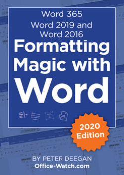 Formatting Magic with Word