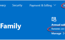 Find your Microsoft 365 plan, expiry date and when Microsoft charges for renewal